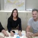 PREFEITA ASSINA CONVÊNIO DE MELHORIAS PARA O SAAE